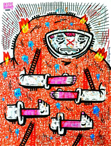 DODORIA|DibujodeVicente Aguado| Compra arte en Flecha.es