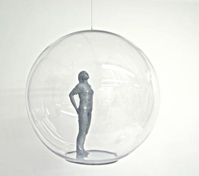 Burbuja mundo I|EsculturadeMarta Sánchez Luengo| Compra arte en Flecha.es