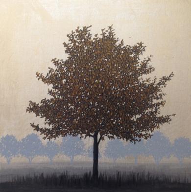 Miniatura con árbol 1|PinturadeCharlotte Adde| Compra arte en Flecha.es