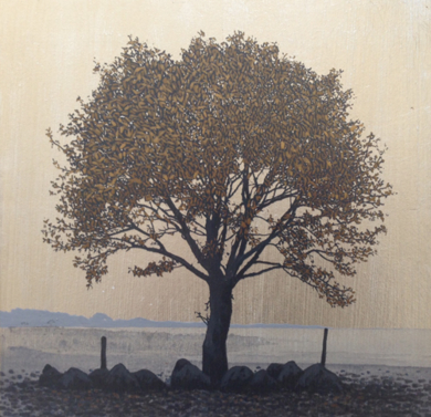 Miniatura con árbol 3|PinturadeCharlotte Adde| Compra arte en Flecha.es