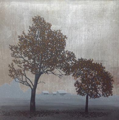 Miniatura con árbol 5|PinturadeCharlotte Adde| Compra arte en Flecha.es