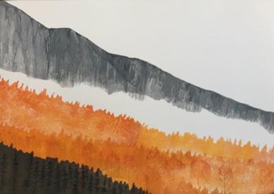 Otoño|PinturadeMilena Mateva| Compra arte en Flecha.es