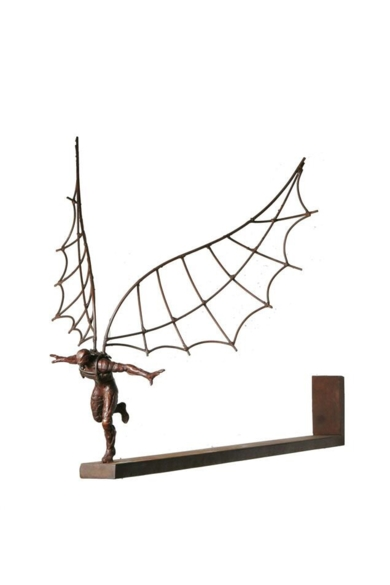 ICARO III|EsculturadeFernando Suárez| Compra arte en Flecha.es