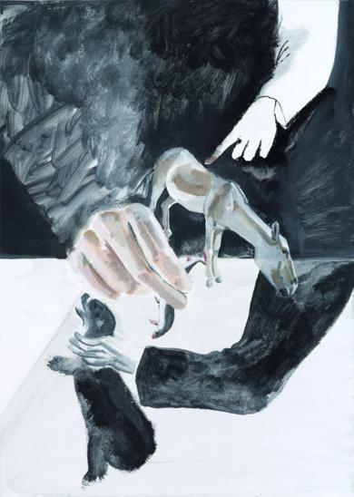 Animales en peligro de extinción ( Onagro & oso de anteojos )|PinturadeXosé Vilamoure| Compra arte en Flecha.es