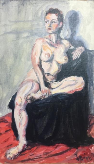 Se Parece a una Amiga|PinturadeJaelius Aguirre| Compra arte en Flecha.es