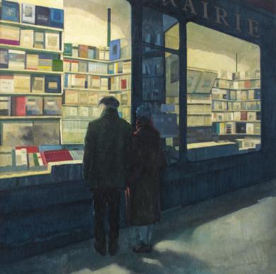 Un domingo de invierno|PinturadeOrrite| Compra arte en Flecha.es