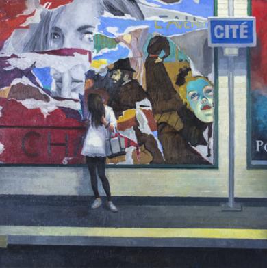 El paso del tiempo|PinturadeOrrite| Compra arte en Flecha.es