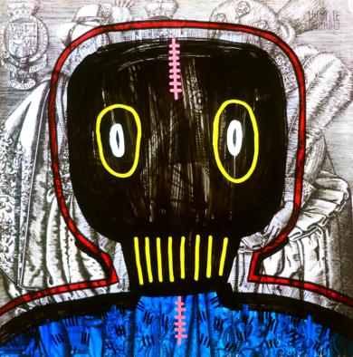 OMNIPOTENCE II|DibujodeVicente Aguado| Compra arte en Flecha.es