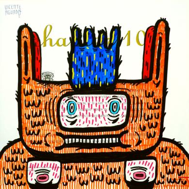 OMNIPOTENCE III|DibujodeVicente Aguado| Compra arte en Flecha.es