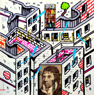 REVEREND ANDERSON ST. (FREEMASON CITY)|DibujodeVicente Aguado| Compra arte en Flecha.es