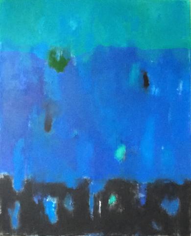 Blue ocean|PinturadeLuis Medina| Compra arte en Flecha.es