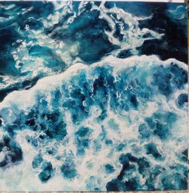 oceanos|Pinturadebeatriz cárcamo| Compra arte en Flecha.es
