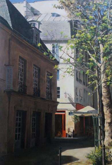 Paris- frente al Sena|PinturadeCarmen Nieto| Compra arte en Flecha.es