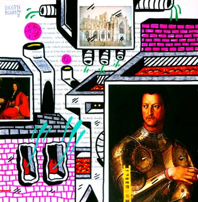 MEDICI ST. (FREEMASON CITY)|DibujodeVicente Aguado| Compra arte en Flecha.es