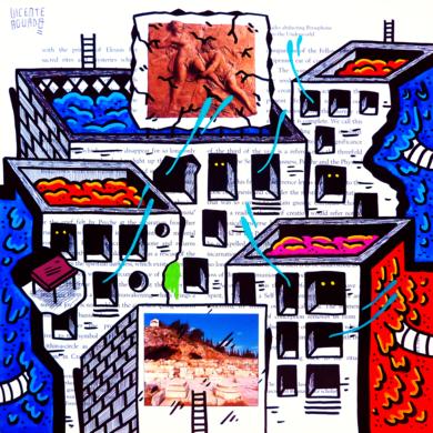 HADES AND PERSEPHONE ST. (FREEMASON CITY)|DibujodeVicente Aguado| Compra arte en Flecha.es