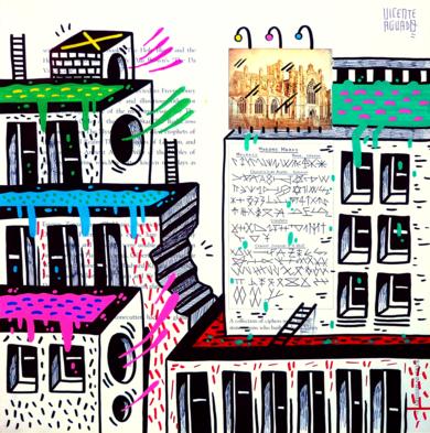 MASON MARKS ST. (FREEMASON CITY)|DibujodeVicente Aguado| Compra arte en Flecha.es