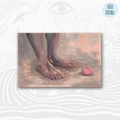 A tus pies|PinturadeBran Sólo| Compra arte en Flecha.es
