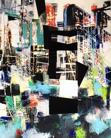 En Construcción|CollagedeErika Nolte| Compra arte en Flecha.es