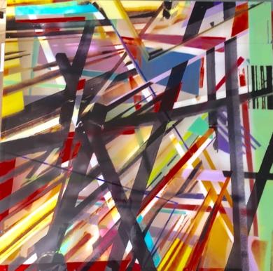 El Nudo|PinturadeErika Nolte| Compra arte en Flecha.es