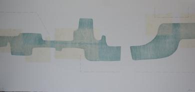 En dos pasos|Obra gráficadeCruz Sánchez| Compra arte en Flecha.es
