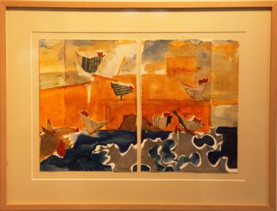 LA ESPERA DEL LOBO|CollagedeSINO| Compra arte en Flecha.es