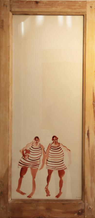 LOS GEMELOS|DibujodeSINO| Compra arte en Flecha.es