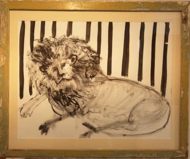 EN LA JAULA|DibujodeSINO| Compra arte en Flecha.es