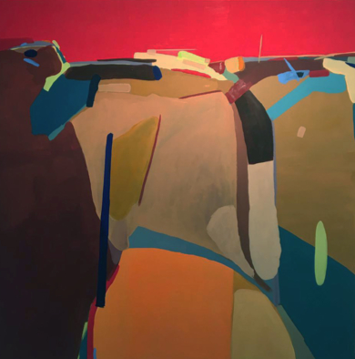 Atardecer|PinturadeLeticia Gª Marañón| Compra arte en Flecha.es