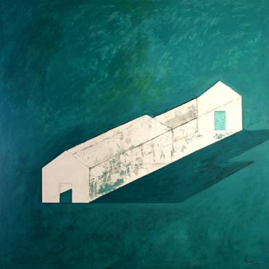 Nave|CollagedeAna Pellón| Compra arte en Flecha.es