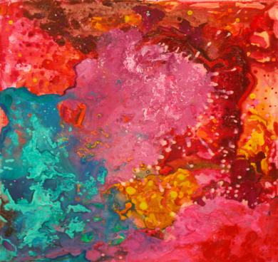 Destellos.|PinturadeÁngeles Romo| Compra arte en Flecha.es