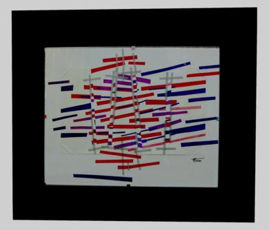 Crepusculo magenta|CollagedeFabiana Zapata| Compra arte en Flecha.es
