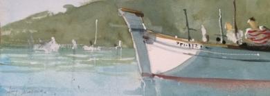 Tarde en el puerto|PinturadeIñigo Lizarraga| Compra arte en Flecha.es