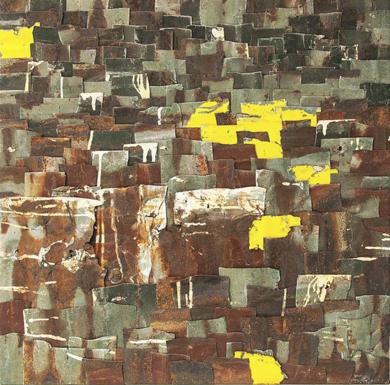 Familia Ruiz  / de la serie Sociedad de Hojalata.|CollagedeRobert Montilla| Compra arte en Flecha.es