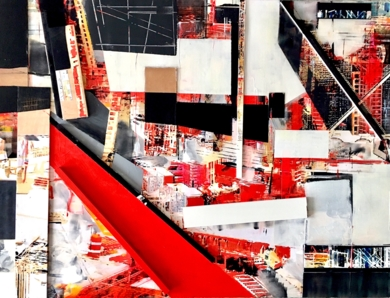 INTERCONTINENTAL CollagedeErika Nolte  Compra arte en Flecha.es