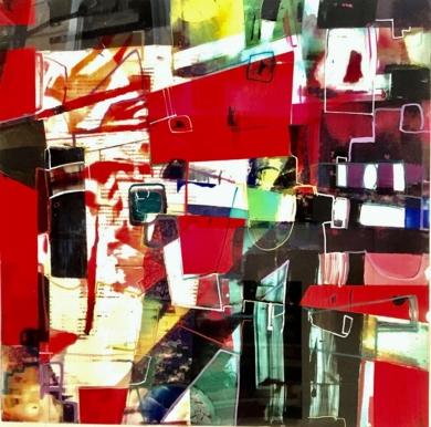 still life in red|PinturadeErika Nolte| Compra arte en Flecha.es