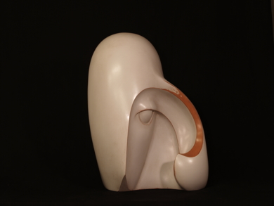 MUJER CON MELENA|EsculturadeRafael Heredia| Compra arte en Flecha.es