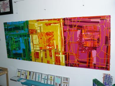 Triptico de caramelos|CollagedeFabiana Zapata| Compra arte en Flecha.es