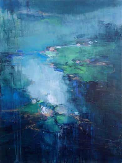A Moment of Reflection|PinturadeMagdalena Morey| Compra arte en Flecha.es
