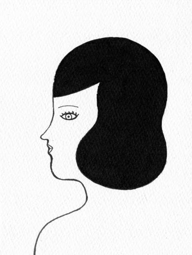 Rostro|DibujodeMarta Antelo| Compra arte en Flecha.es