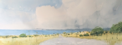 Mediterráneo. Mallorca|PinturadeIñigo Lizarraga| Compra arte en Flecha.es