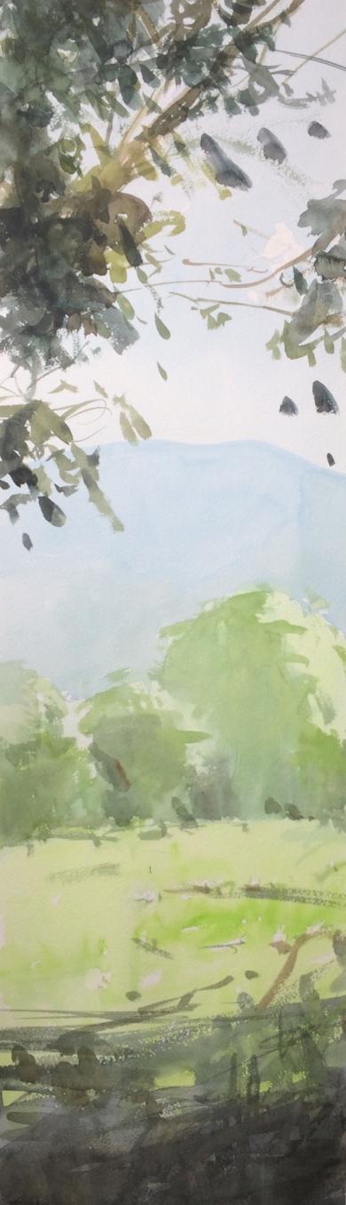 La Granja. Verano 2017|PinturadeIñigo Lizarraga| Compra arte en Flecha.es