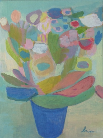 Fleurs d'hiver|PinturadeIria| Compra arte en Flecha.es