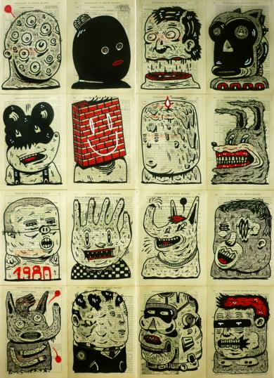 CURSED CLASS 1980|DibujodeVicente Aguado| Compra arte en Flecha.es