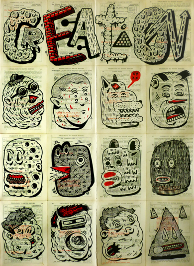 CREATION|DibujodeVicente Aguado| Compra arte en Flecha.es