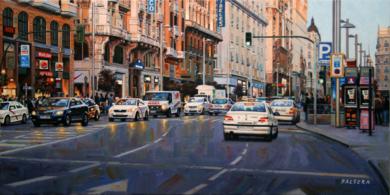 Gran Vía. Madrid|PinturadeBALSERA| Compra arte en Flecha.es