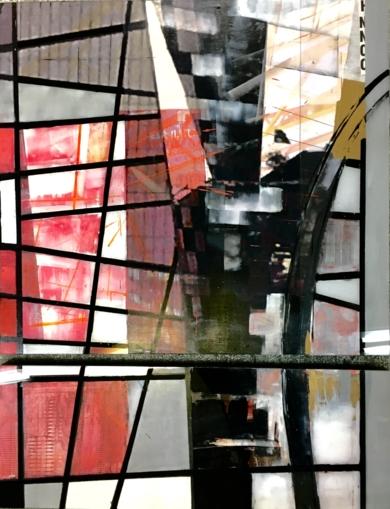 Construcciones II / Diptico|CollagedeErika Nolte| Compra arte en Flecha.es