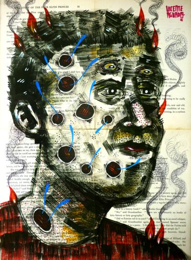 LIFE COULD BE WORST|DibujodeVicente Aguado| Compra arte en Flecha.es