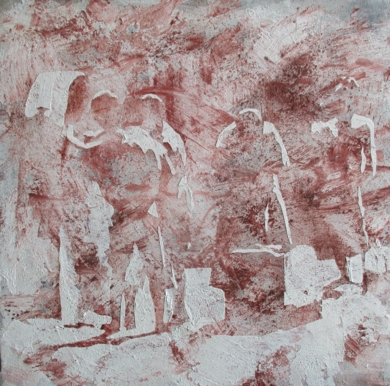 Tertulia en la fuente|PinturadeAlvaro Sellés| Compra arte en Flecha.es