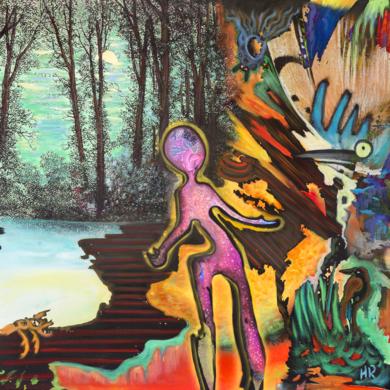 Dreaming Bosch|DigitaldeHelena Revuelta| Compra arte en Flecha.es