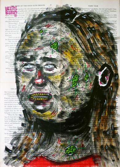 PHANTASMA|DibujodeVicente Aguado| Compra arte en Flecha.es